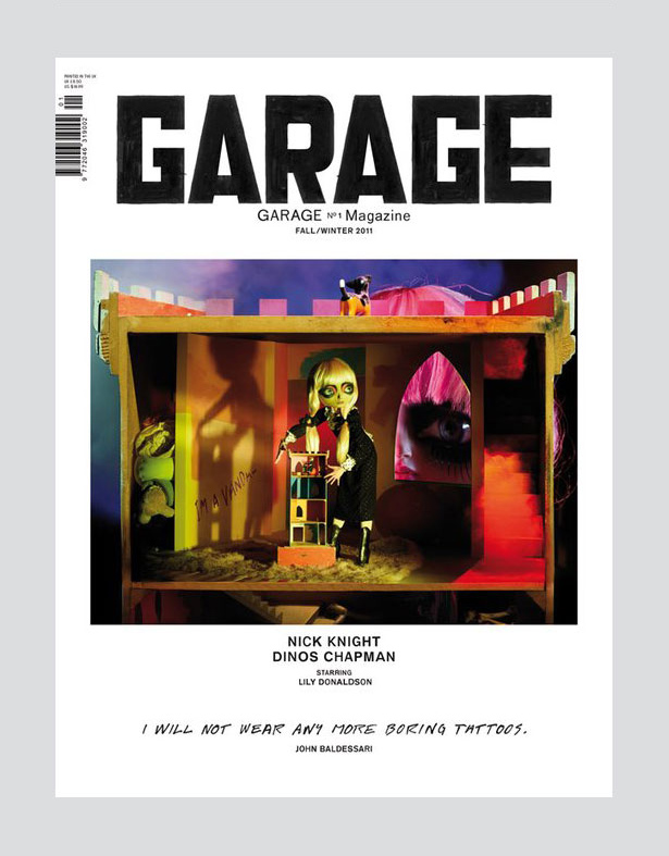 Garage magazine cover 03