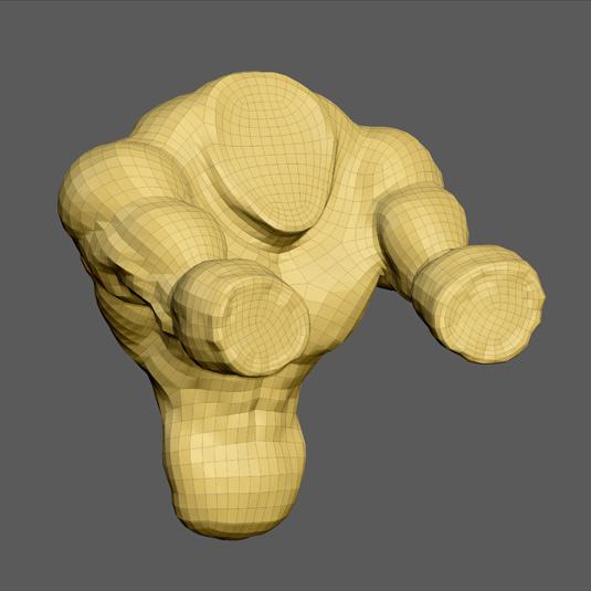 Hulkenstein retopology