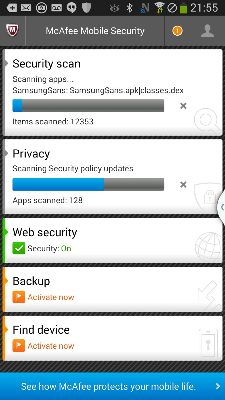 The added mobile protection is a smart addition to the security suite