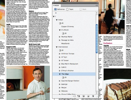 Create an index in InDesign: step 6