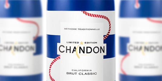 Packaging design: chandon branding