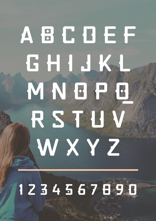 Free font: Quirko