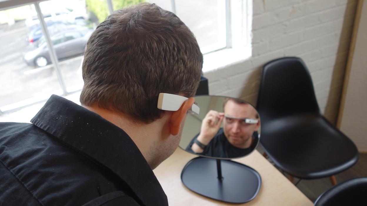 Google Glass fitting