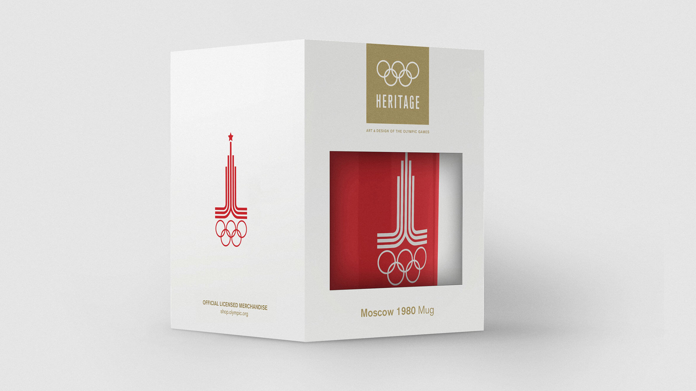 Olympic Heritage Collection identity