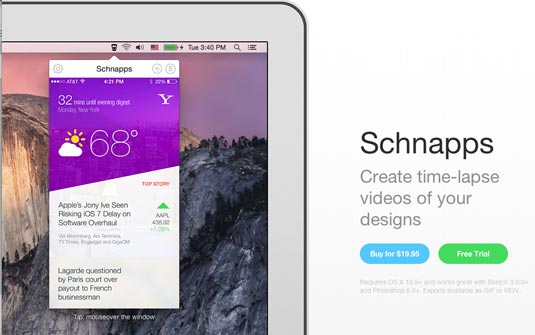 Schnapps for Mac