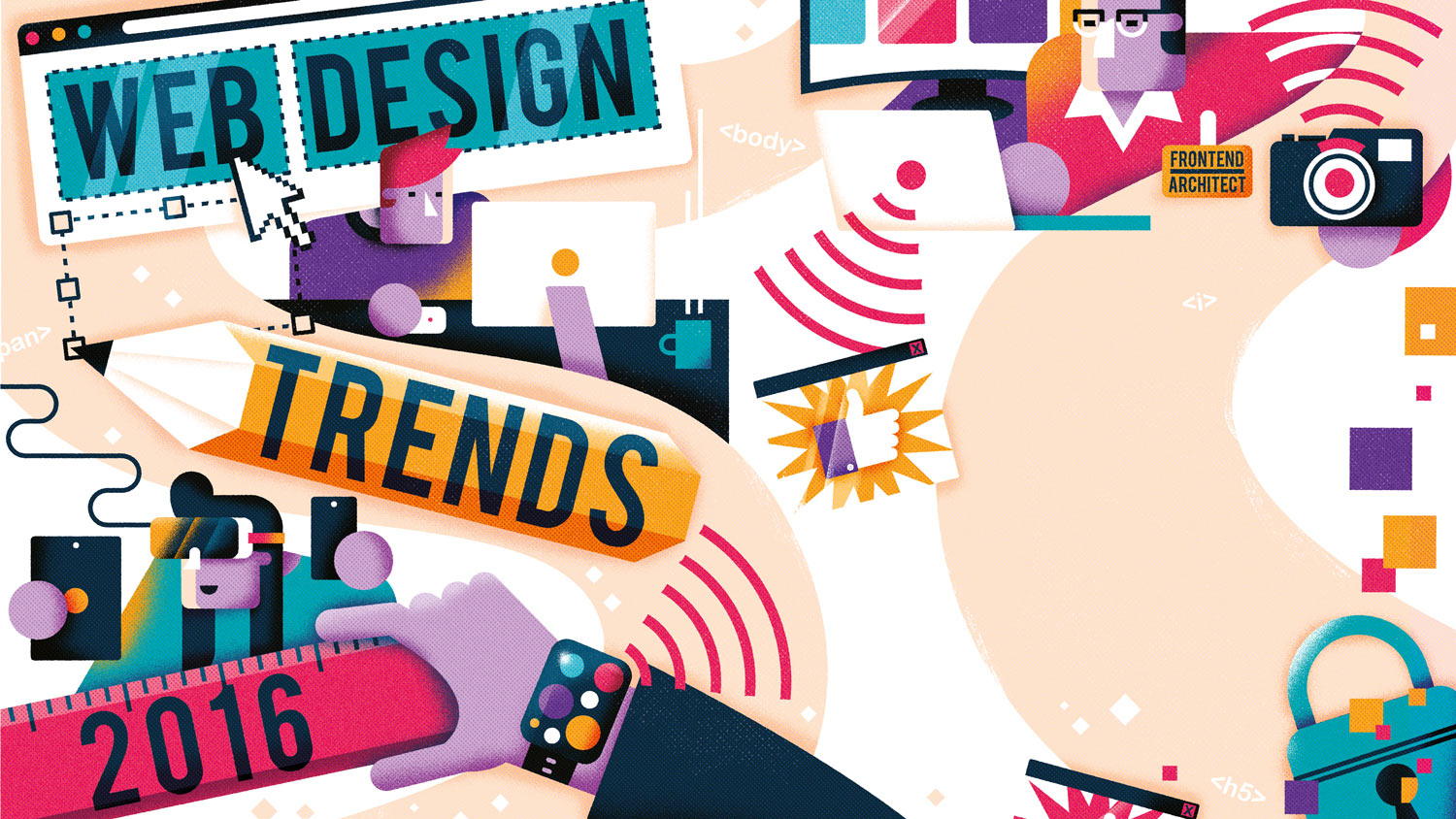 Web trends for 2016