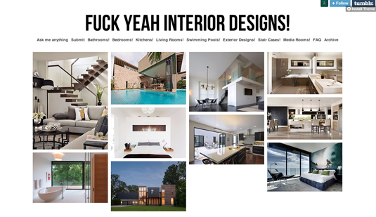 fck yeah interior designs - Interior Design Portfolio Ideas