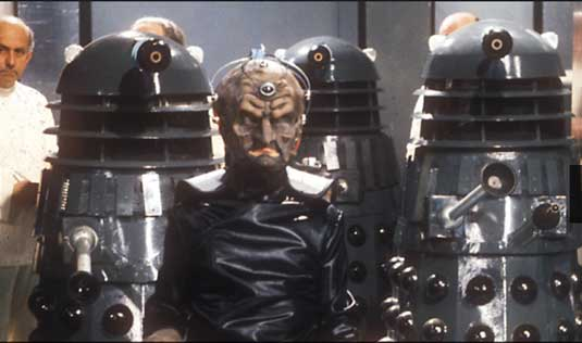 Dalek designs: Davros and the Daleks