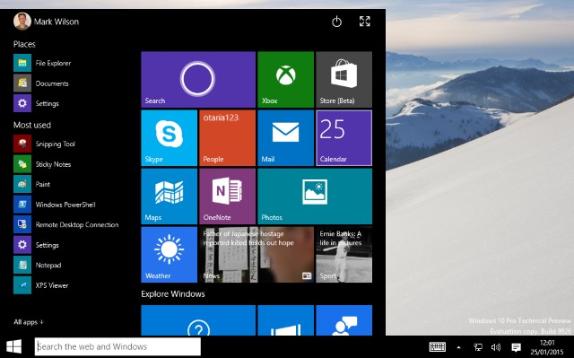 Windows 10's Start menu has evolved into something eminently usable