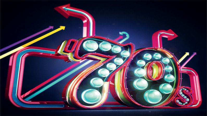 how to create neon typography in cinema 4d creative bloq