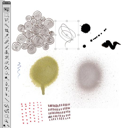 Kaleidoscopic collage 5