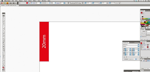 Use a column grid: step 2