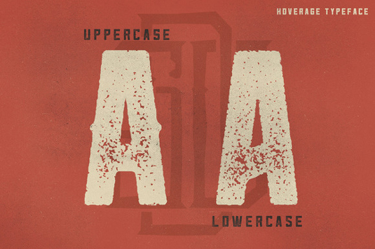 Free font: Hoverage