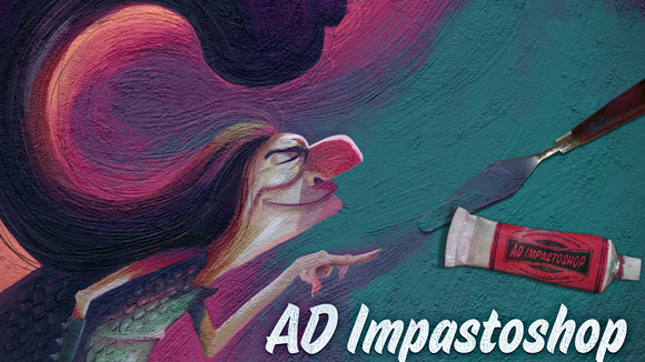 Best graphic design tools for May: AD Impastoshop plugin