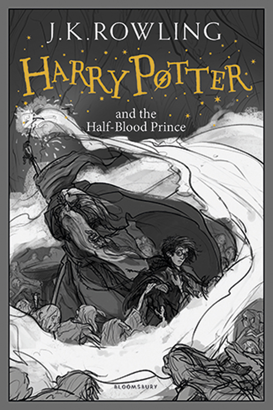 Book Cover Template Paint : How to paint a harry potter book cover creative bloq
