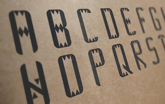 Free font: Adic