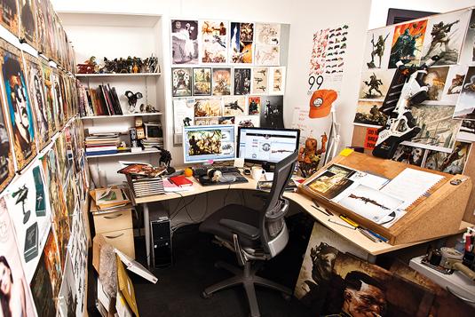 Artist in residence: Weta's Greg Broadmore