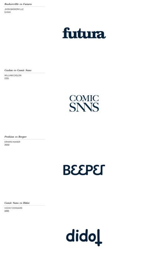 typeface logos