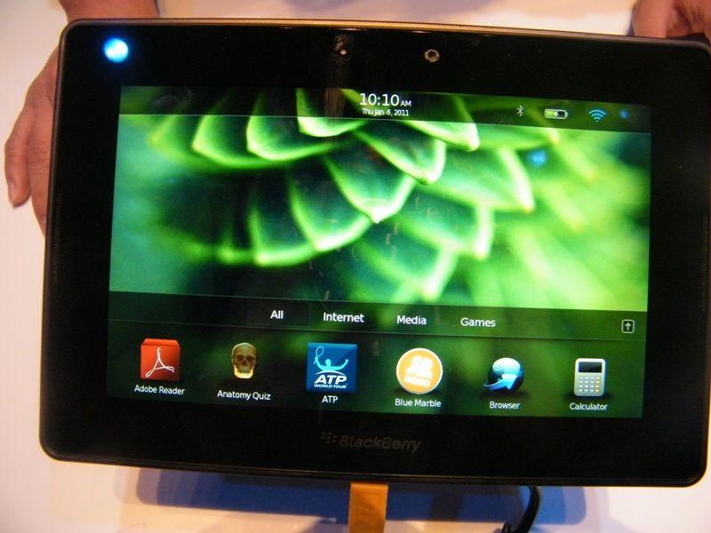 Blackberry playbook confirmed to run android apps techradar for Application miroir blackberry