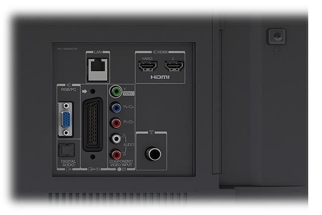 Slot common interface sharp aquos