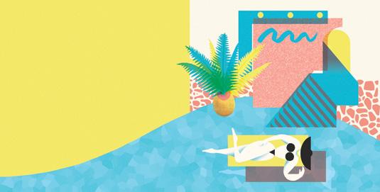 Josh McKenna's Paradise illustration