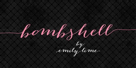 Bomshell Pro font