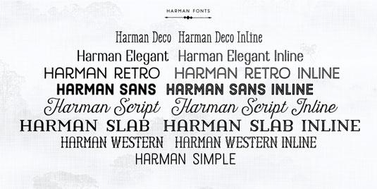 Harman font