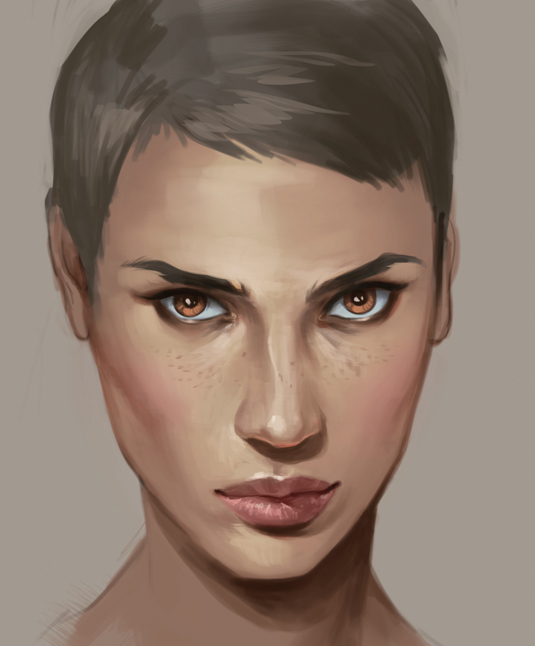 Charlie Bowater Brushes For Painting Skin