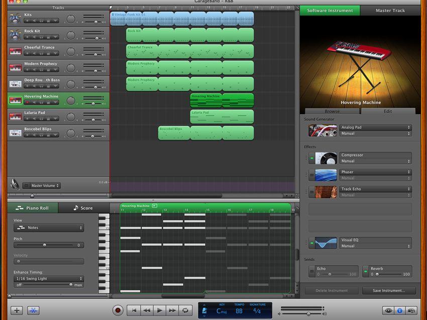 first test  apple garageband  u0026 39 09