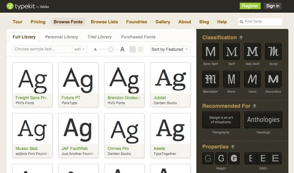 Online type is changing fast, providing more options for designers