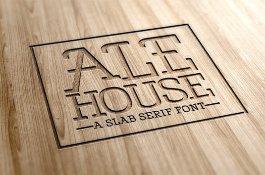 Ale House font