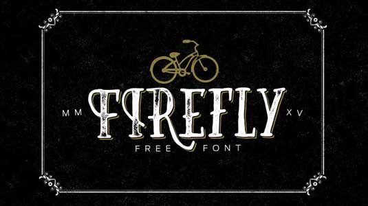 Free font: Firefly