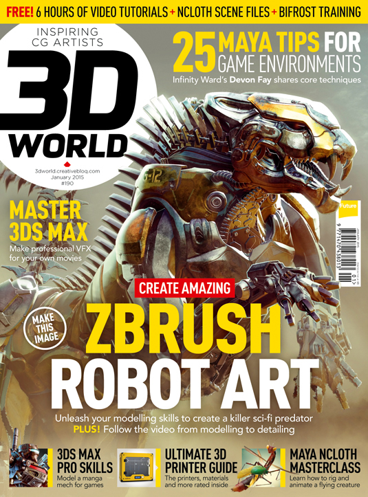 3D World issue 190