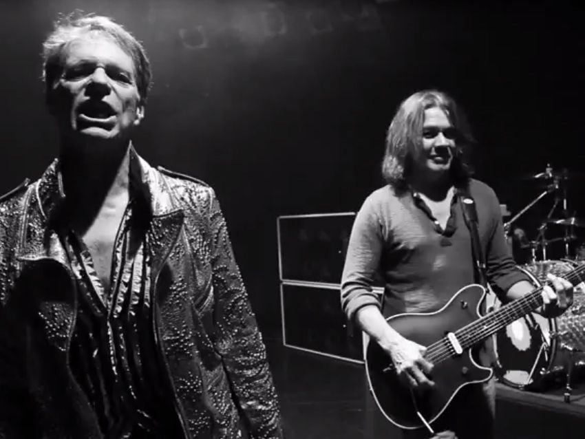 Video van halen premiere clip for new single tattoo for Tattoo van halen