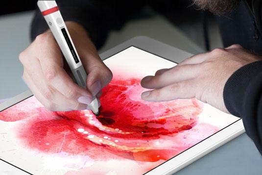 Scribbler pen paints the rainbow