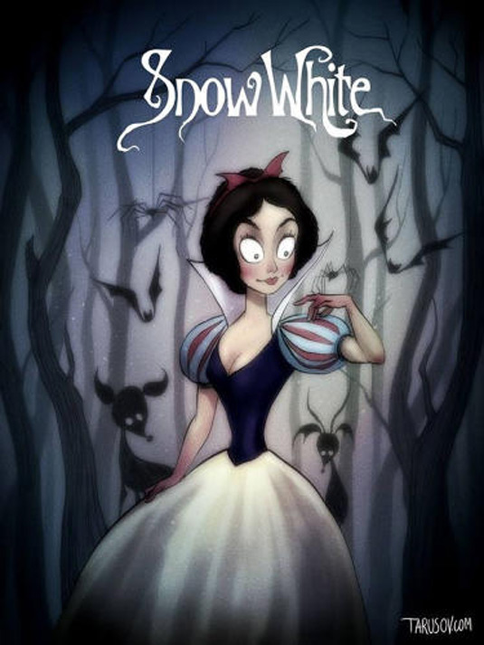 Disney films Tim Burton style: Snow White