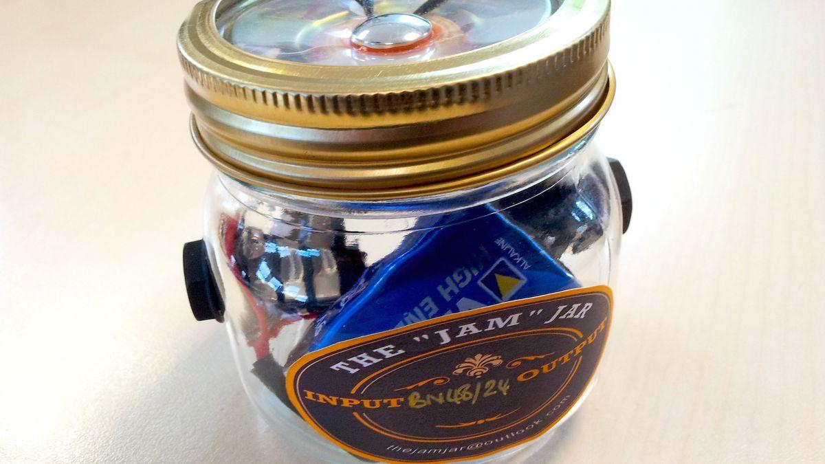 Glass Jar Turns Guitar Amp With The Jam Jar Musicradar