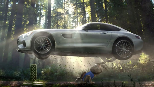 Mercedes Super Bowl ad