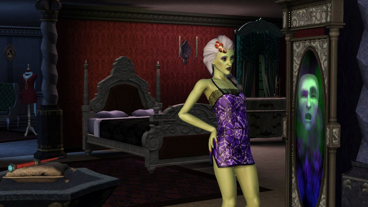 The Sims 3 Supernatural Freaky Friday Caption Contest Part