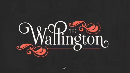 Wallington font