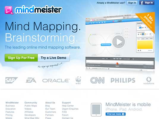 Mind mapping tool 6
