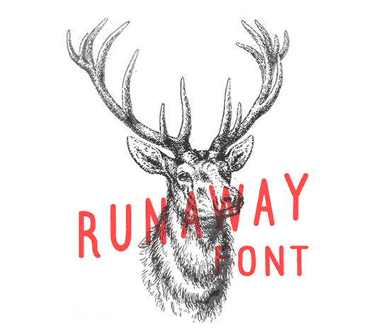 Free font: Runaway