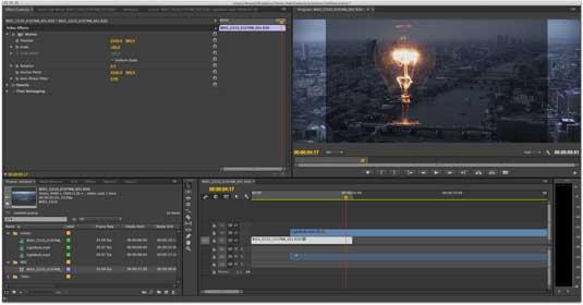 Premiere Pro H264 clip