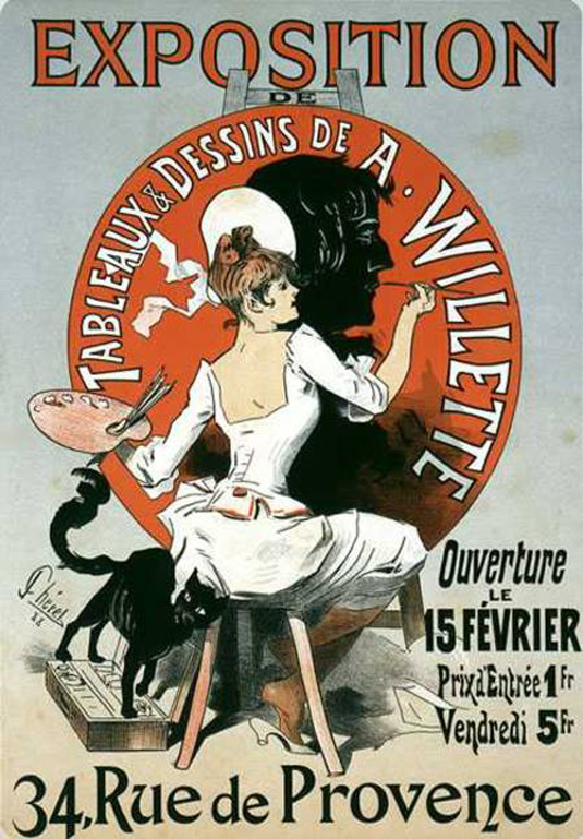 Vintage posters - Willette exposition