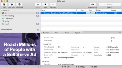 BitTorrent's own official client is much like uTorrent, but includes some extra features like commenting and reviewing