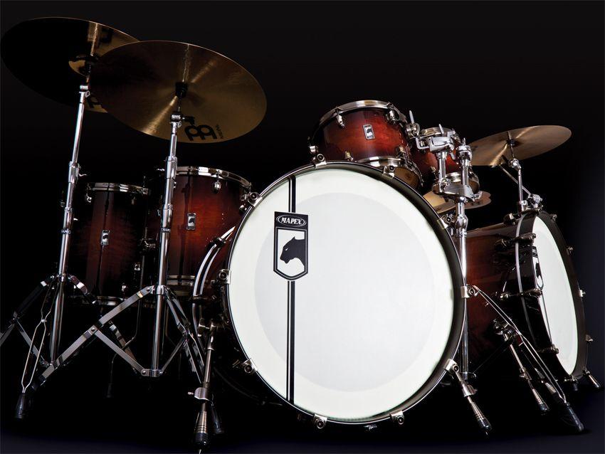mapex unleashes black panther drum kits musicradar. Black Bedroom Furniture Sets. Home Design Ideas