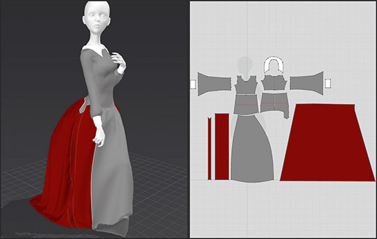 How to create 3D clothing