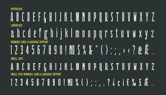 Ridewell font
