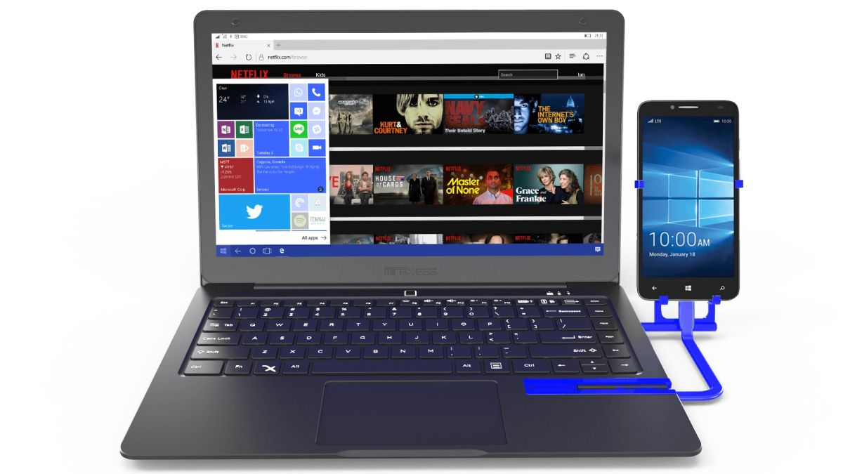 Continuum's not dead: Mirabook is a laptop powered by a Windows Phone
