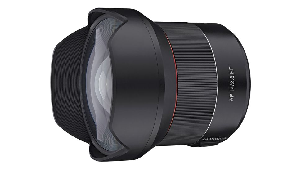 Samyang AF 14mm F2.8 EF unveiled for Canon users
